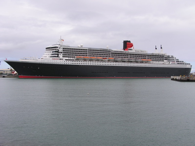 Queen Mary in Las Palmas